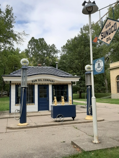 Carillon Park - old gas station