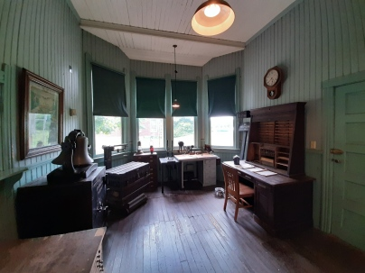 Carillon Park - Old reailway station2