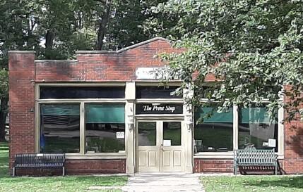 Carillon Park - Print Shop1