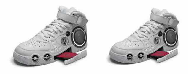 CD Shoes - Dude, the 90s are here, time to get rid of those old Walkman sneakers! (lolwot.com)