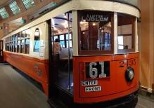 Cincinnati Museum Center - old streetcar