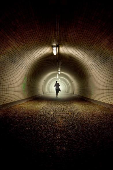 'Endless Tunnel' phot by Jaroslaw Blaminsky