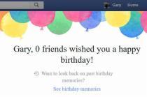 'Happy birthday from Facebook!' Pirate_Redbeard (Reddit)