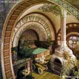 Hobbit-inspired bedroom suite (homeadvisor.com)