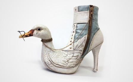 Mother Goose shoes by Costa Magakaris (awesomestuff365)