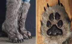Now you can be warm in your 'bear' feet (awesomestuff365)