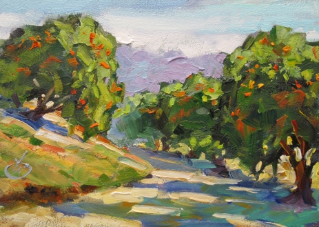 Orange Grove by Tom Brown