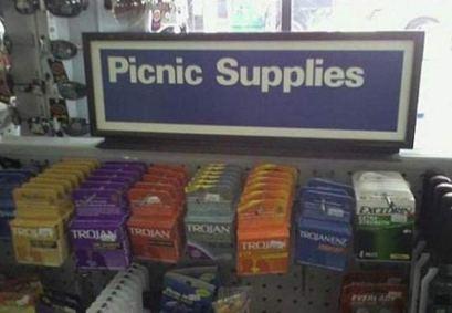 Picnic Supplies (pinterest)