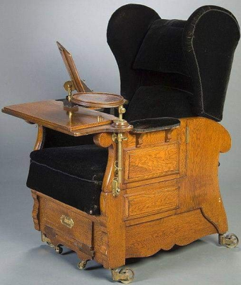 Sir Compton Mackenzie's Writing Chair (1883-1972)