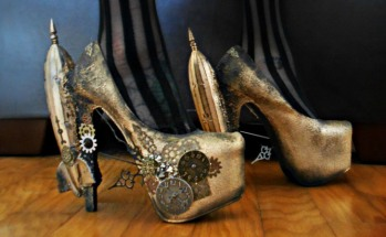 Steampunk Rocket Heels (awesomestuff365)