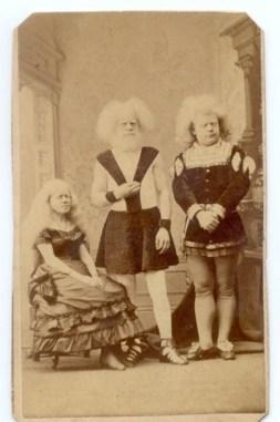 Albino family, 1870 (acidcow.com)