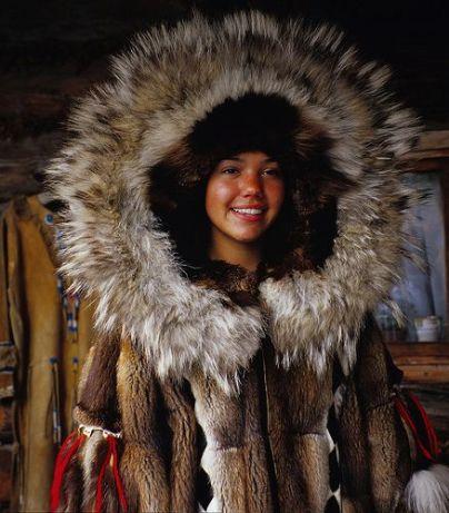 Athabascan Native girl (sonofabeach.com)