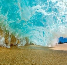 Endless Wave Tunnel - photo credit, Tron-Alive (boredpanda.com)