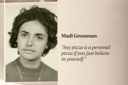Life Motto with Pepperoni