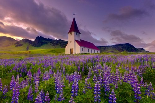 Myrdal Church, Vik, Iceland