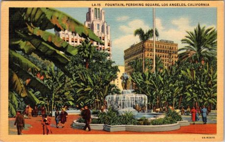 Pershing Sguare, Los Angeles