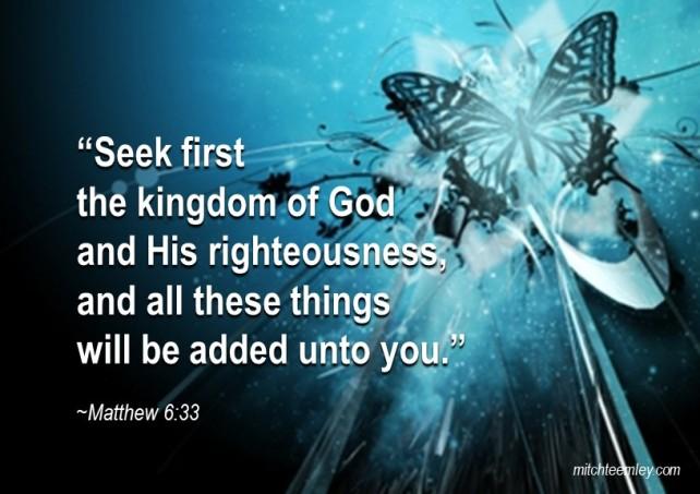 Seek First..