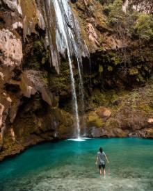Akchour Waterfall, Morocco - photo by Omar Ob (unsplash.com)
