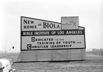 As a heathen kid, I played at the creek that ran by Biola, and actually ended up teaching there decades later.