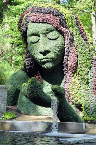 Living Sculpture 1 at Atlanta Botanical Garden (funcage.com)
