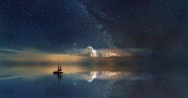 Sailboat at Night (credit unknown)