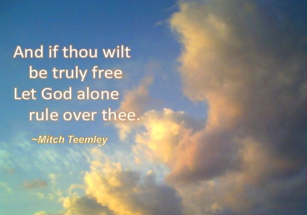 And if thou wilt be truly free...(signed2)