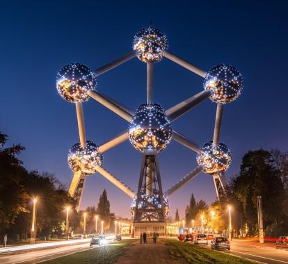 Atomium bruxelles (novembre 2015)