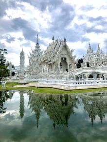 Chiang Mai, the White Temple, Malaysia - photo by Bradley Prentice (unsplash.com)