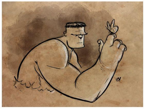 Gentle Giant by Dave Bardin (deviantart.com)