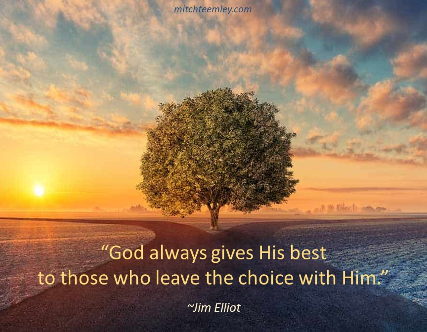 God Always Gives His Best..