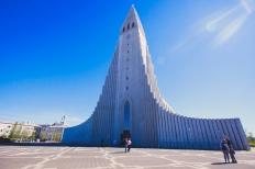 Hallgrimur Church, Reykjavik, Iceland (getbybus.com)