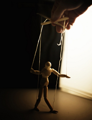 Puppet, using others, strings attached