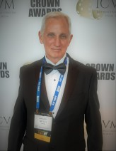Mitch at ICVM Crown Awards ceremony