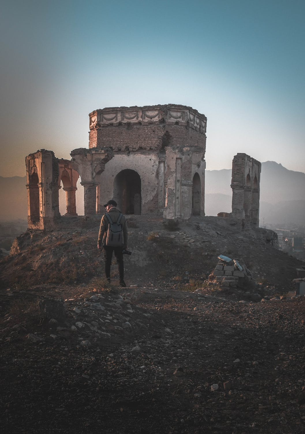 Old Ruins - photo by Suliman Sallehi (pexels.com)
