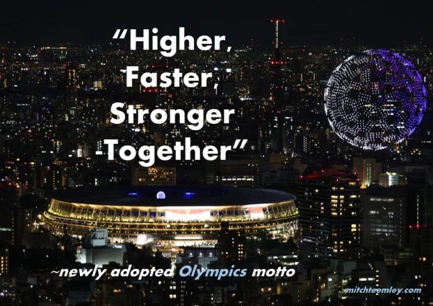 Olympics Motto 2021
