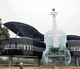 Piano House, Huainan, China (youramazingplaces.com)