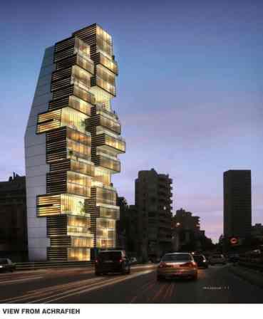 Residentail building, Berut, Lebanon (archdaily.com)