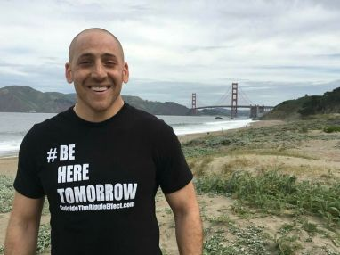 'Back In 2000, Kevin Hines Jumped Off The Golden Gate Bridge Due To Mental Illnesses. He Miraculously Survived. Now He Is A Suicide Prevention Speaker'