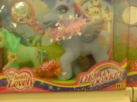 Demon Donkey - how, um, cute (acidcow.com)