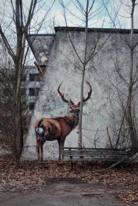 Forgotten mural, Chernobyl - photo by Oleksandra Bardash (unsplash.com)