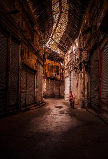 Former commercial district in Tehran, Iran - photo by Omid Armin (unsplash.com)