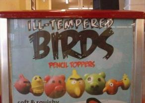 Ill-Tempered (because they're not actually) Birds. (dumpaday.com)