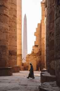 Reaching for the heavens, Egypt - photo by Alex Azabache (pexels.com)