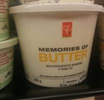 Try this, and you'll remember just how much better actual butter is (dumpaday.com)