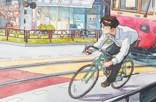 'Bicycle Boy' by Mateusz Urbanowicz (capovelo.com)