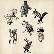 Caricatures - VictorianLady (pixaby.com)
