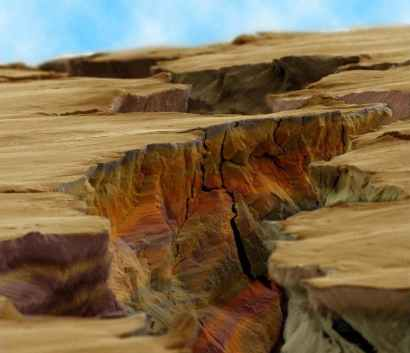Huge canyon...nope, micro-crack in a piece of steel (gizmodo.com)