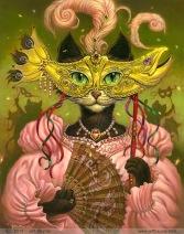 'Mardi Gras Mask Cat' by Jeff Haynie (jeffhaynie.blogspot.com)