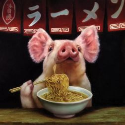'Oodles of Noodles' by Lucia Heffernan (icanvas.com)