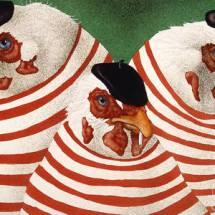'Three French Hens' by Will Bullas (fineartamerica.com)